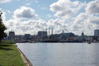 die Hanse Sail in Rostock